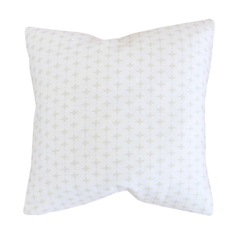 Handcrafted Emerson Petite Diamond Pillow Cover In Dune-Emerson Petite Diamond-The Montauk Collection