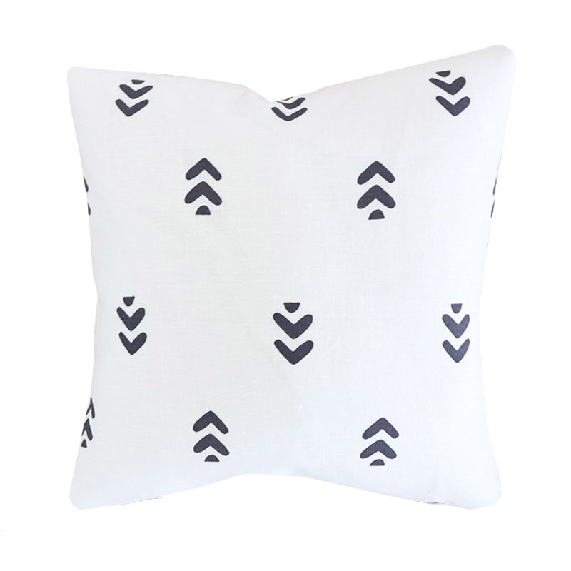 Handcrafted Etna Pillow Cover In Night-Etna-The Montauk Collection