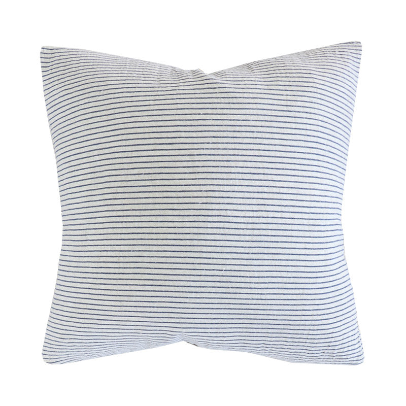 Handcrafted Napa Pillow Cover In Navy-Napa-The Montara Collection