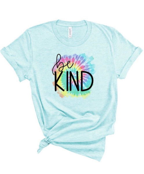 Be Kind-Tie Dye Detail