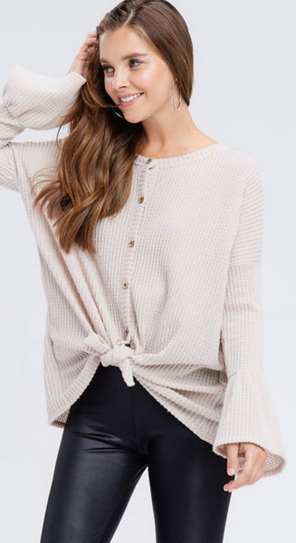 Knit Bell Sleeves