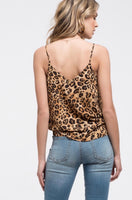 Leopard and Lace Cami