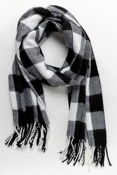 Fall Days Plaid Scarf