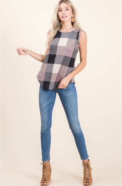 Basic Checkered Tank
