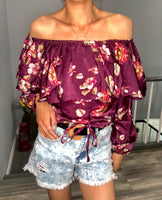 Summer Floral Top