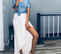 Brunch Maxi Skirt
