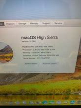 "Load image into Gallery viewer, Mid 2010 13"" MacBook Pro 2.4 C2D 250GB"