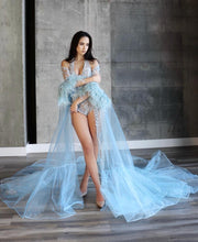 Load image into Gallery viewer, Elsa Jumpsuit & Cape - Custom Made