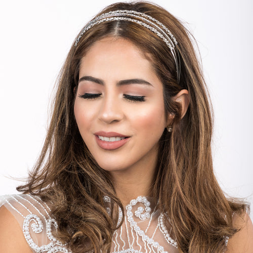 Crystal Bridal Head Piece