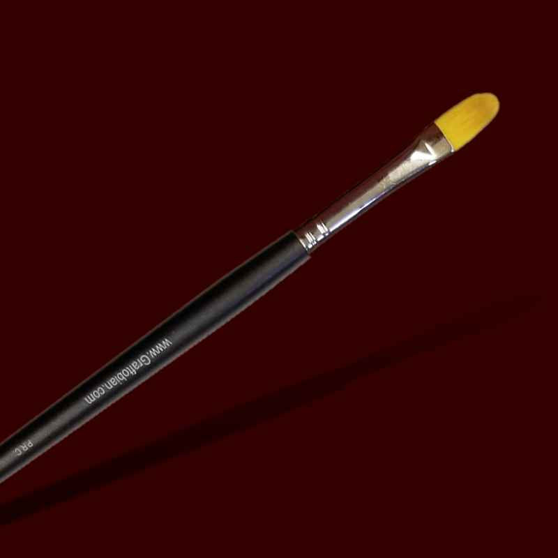 #10 Filbert makeup brush