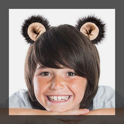 Bear clip-on ears