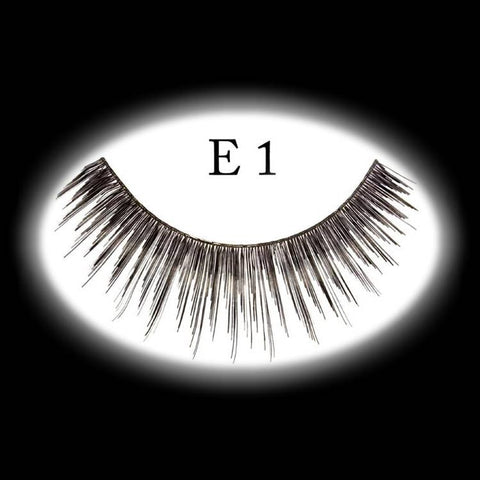 Medium natural costume eyelashes
