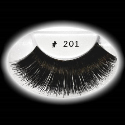 Fake Eyelashes Long Black
