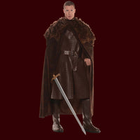Costume Renaissance Cape - Brown