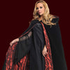 Velvet Cape with Embossed Red Lining