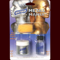 Metal Mania metallic powder application kit