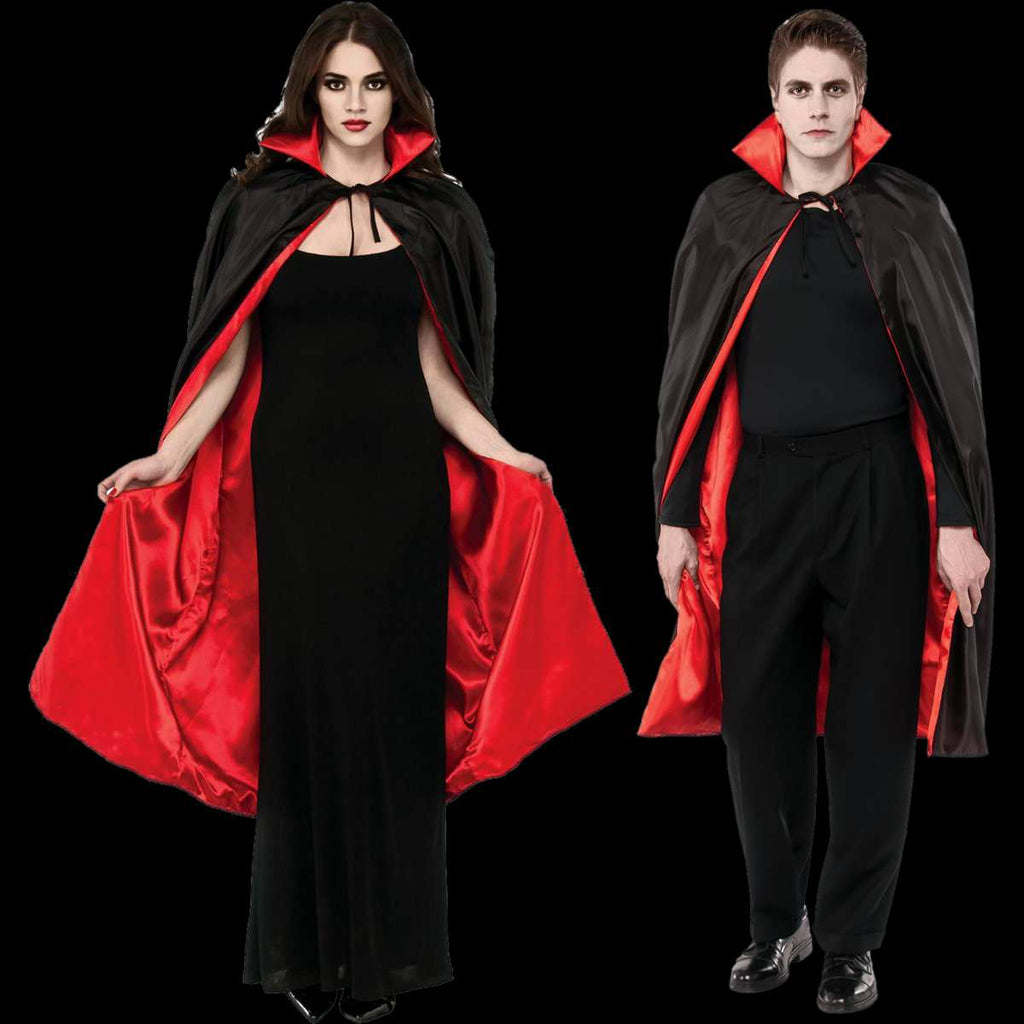 Black/red vampire cape
