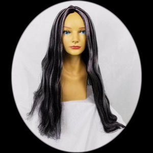 "28/"" Long Black Witch Wig"