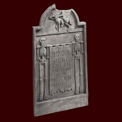 Headless horseman Halloween tombstone decoration