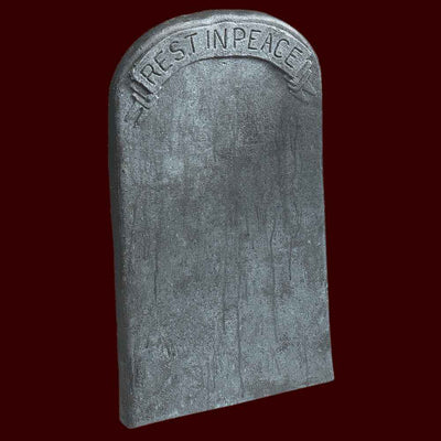 rest in peace tombstone graveyard decoration prop