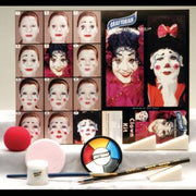 Halloween clown makeup kit face paint