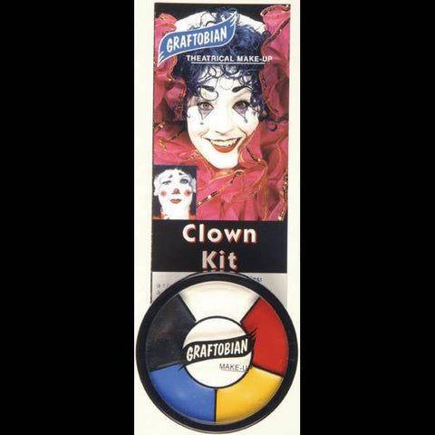 Clown halloween cream face paint