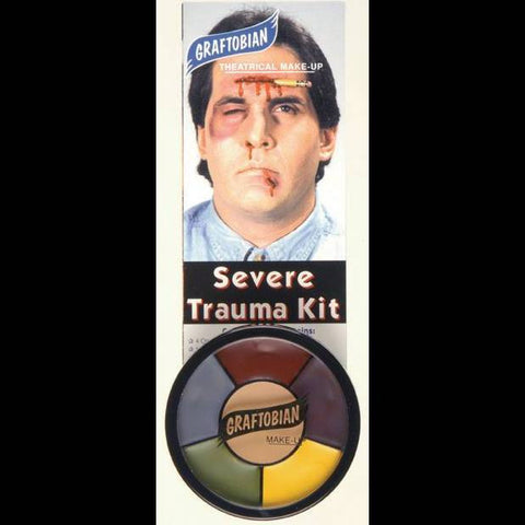 trauma bruise injury creme makeup wheel