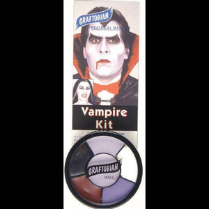 vampire halloween creme face paint wheel