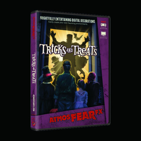 Tricks and Treats DVD Halloween DVD