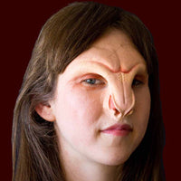 demon faerie creature nose and brow FX makeup