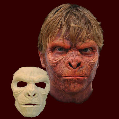 ape man full face prosthetic