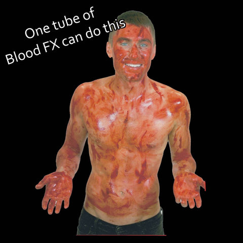 FX Blood makeup coverage