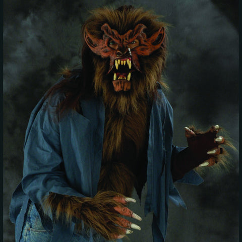 Hairy Werewolf costume shirt