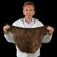 Fur costume shirt collar