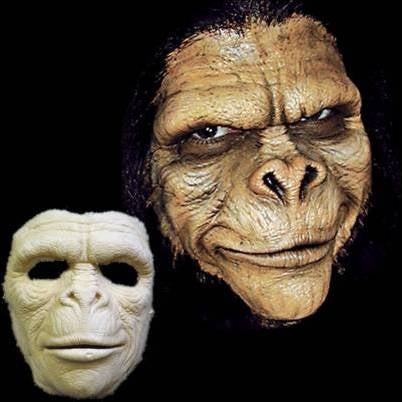 full face ape monkey foam mask appliance