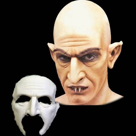 nosferatu halloween latex mask vampire