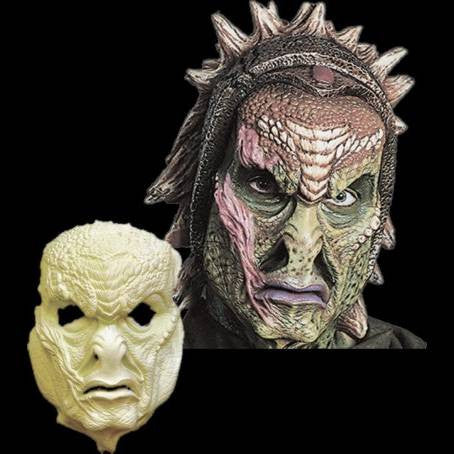 star fighter alien monster latex mask