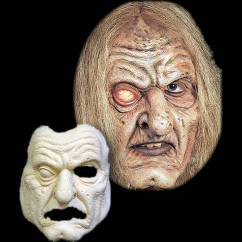 gravekeeper latex halloween mask scary