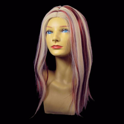 Auburn with Blonde Highlights Wig