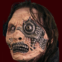 Zombie cyborg makeup appliance