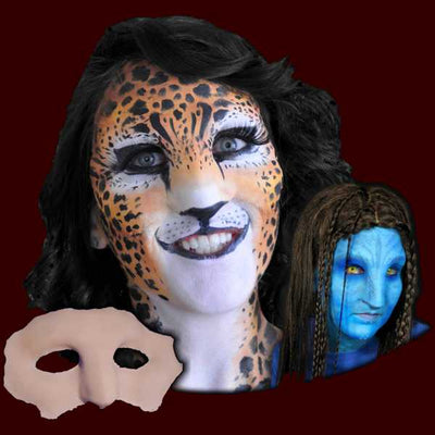 big cat or native avatar latex halloween mask