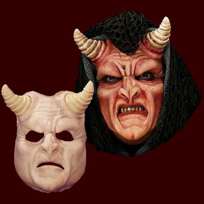 demon devil latex halloween mask