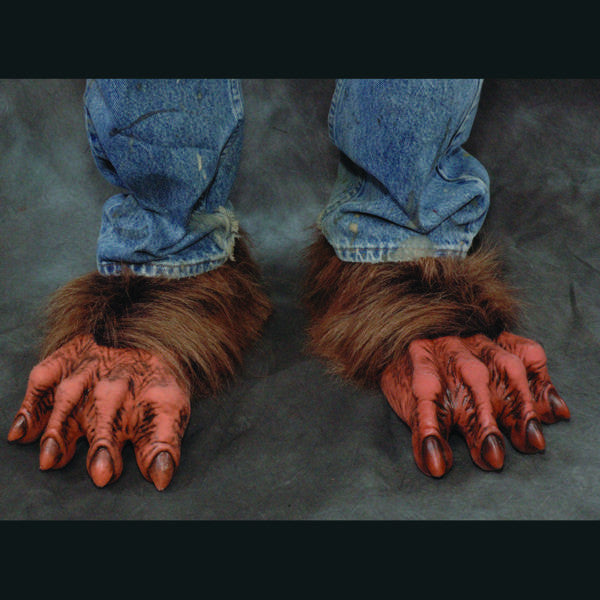 Costume Werewolf Feet