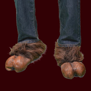 Costume hooves brown