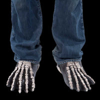 Skeleton costume feet shoes