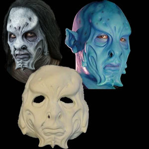 aqua alien full foam latex mask