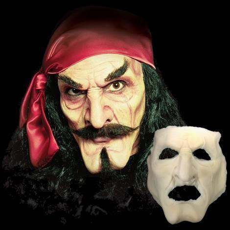 Captain Hook Pirate Appliance Halloween Mask