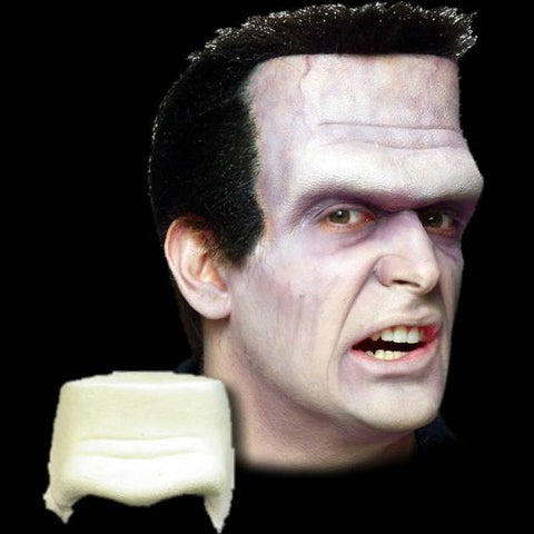 Frankenstein foam latex forehead prosthetic