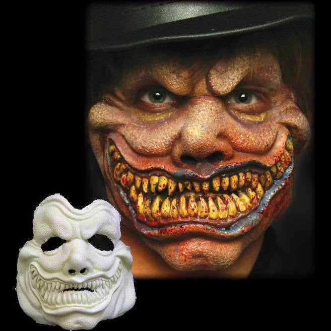 hyde jekyll doctor halloween makeup mask