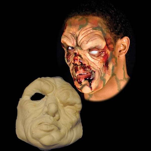 undead ghoul monster halloween latex mask